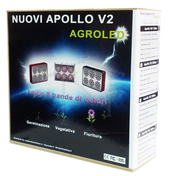 LED APOLLO V3 per Coltivazione Indoor e Idroponica