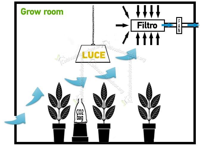 Ecco perchè è fondamentale un kit aspirazione per grow room